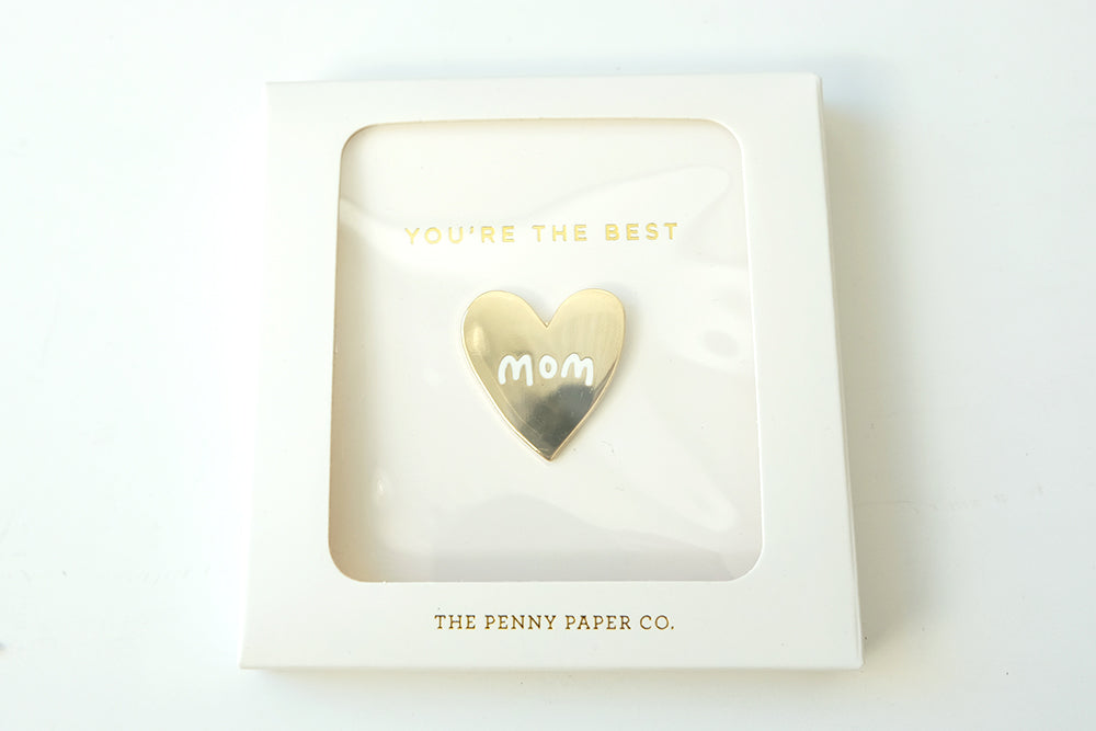 "You're the Best ""MOM"" Pin"