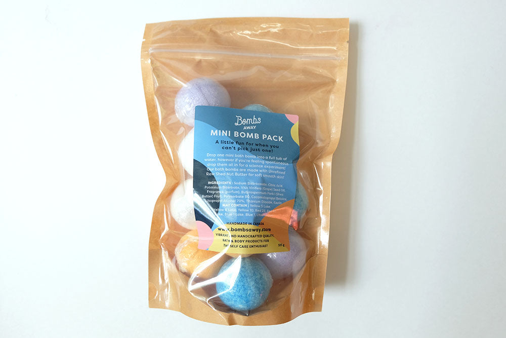 Bomb's Away Mini Bath Bombs