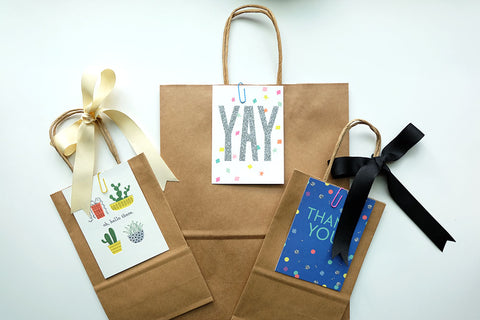 Gift Bag & Card  - Winnipeg Only - ADD TO CART FIRST!