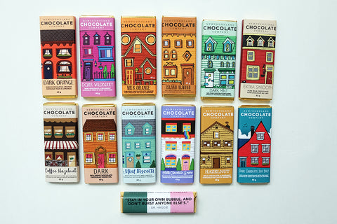Newfoundland Chocolate Company Small Chocolate Bars