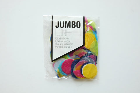 Mini bag of Jumbo Confetti