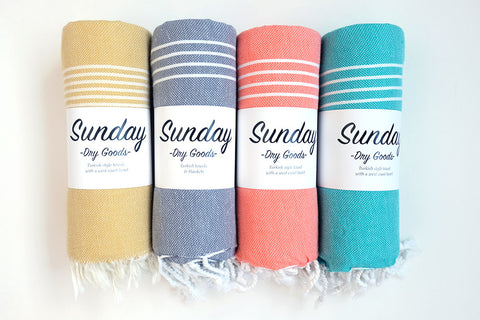 Sunday Dry Goods Turkish Towels