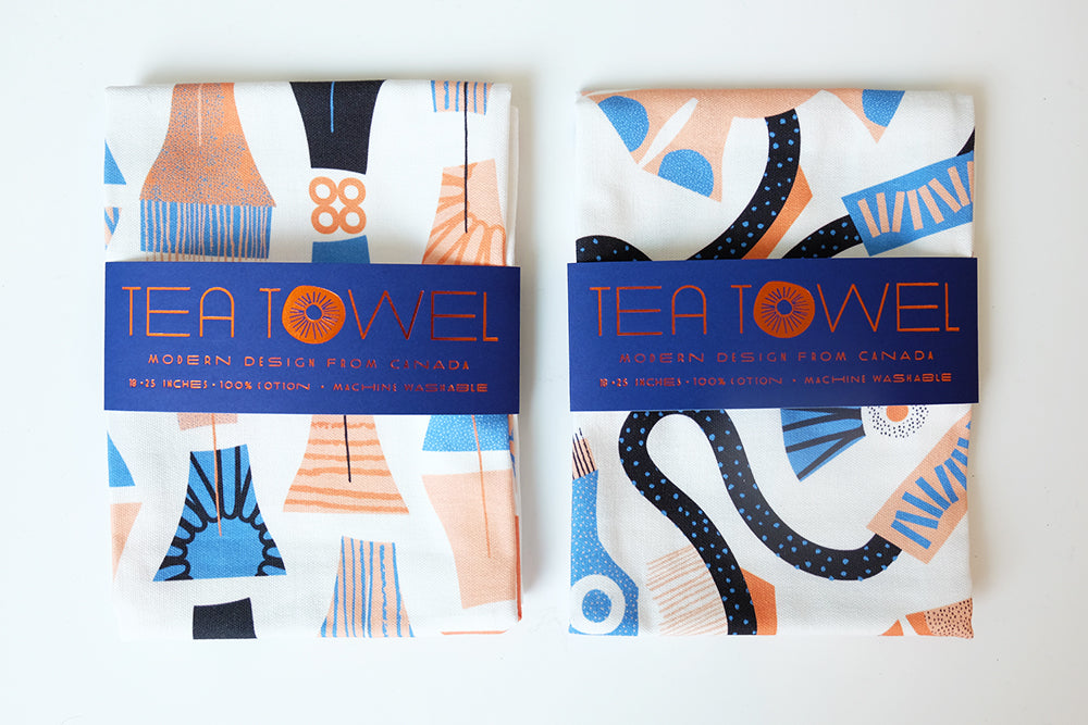 Mezzaluna Studio Tea Towels