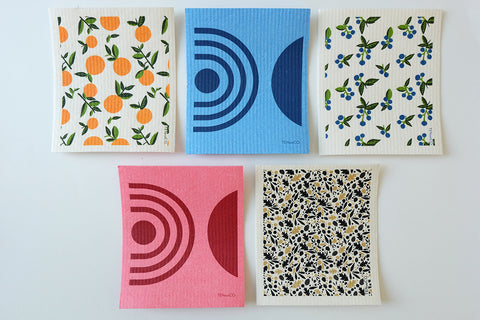 Ten & Co. Sponge Cloths