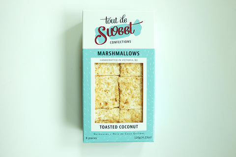 Tout de Sweet Toasted Coconut Marshmallows