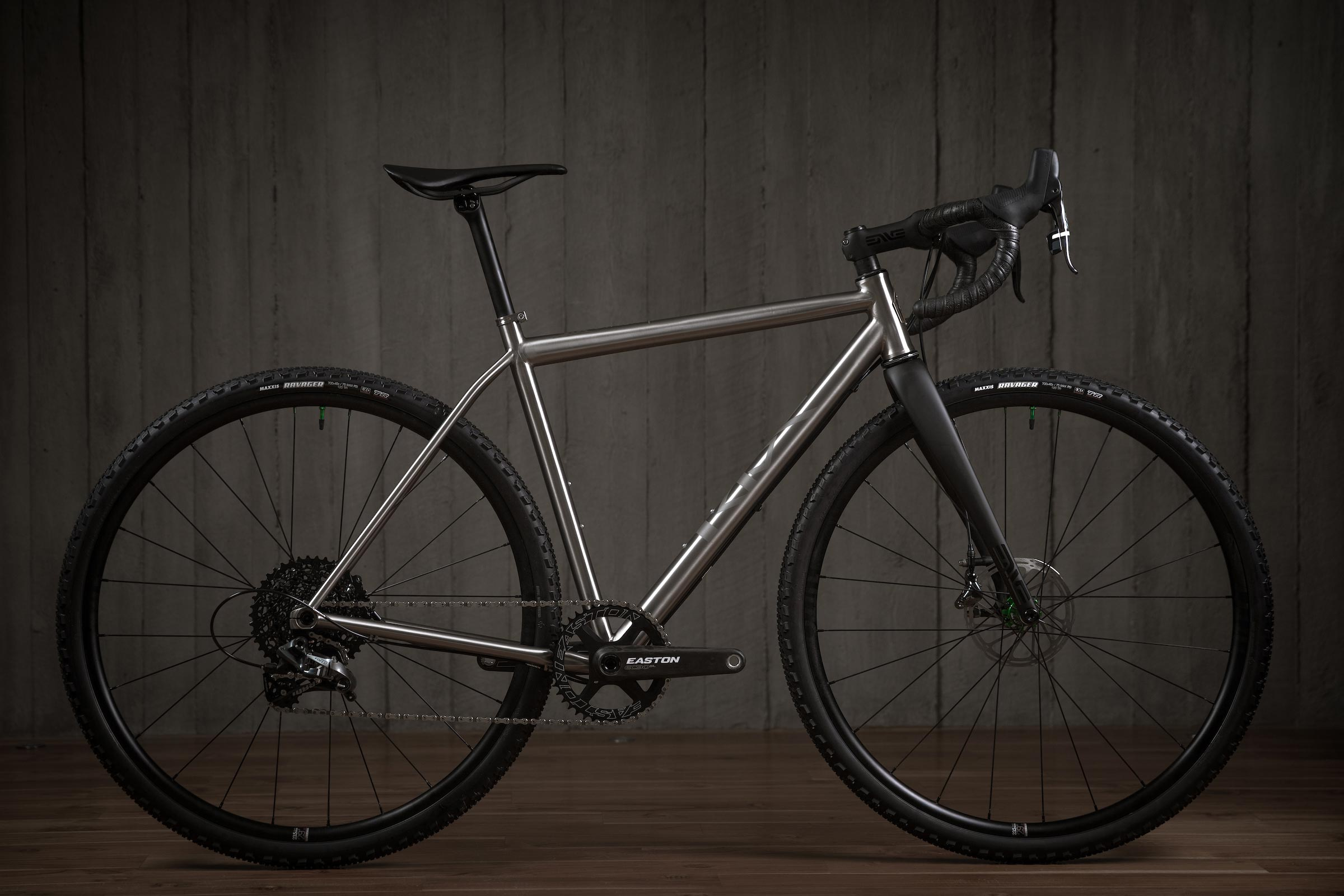 Rise Bikes Greywolf Titanium Gravel-Road / Cross Bike Profile