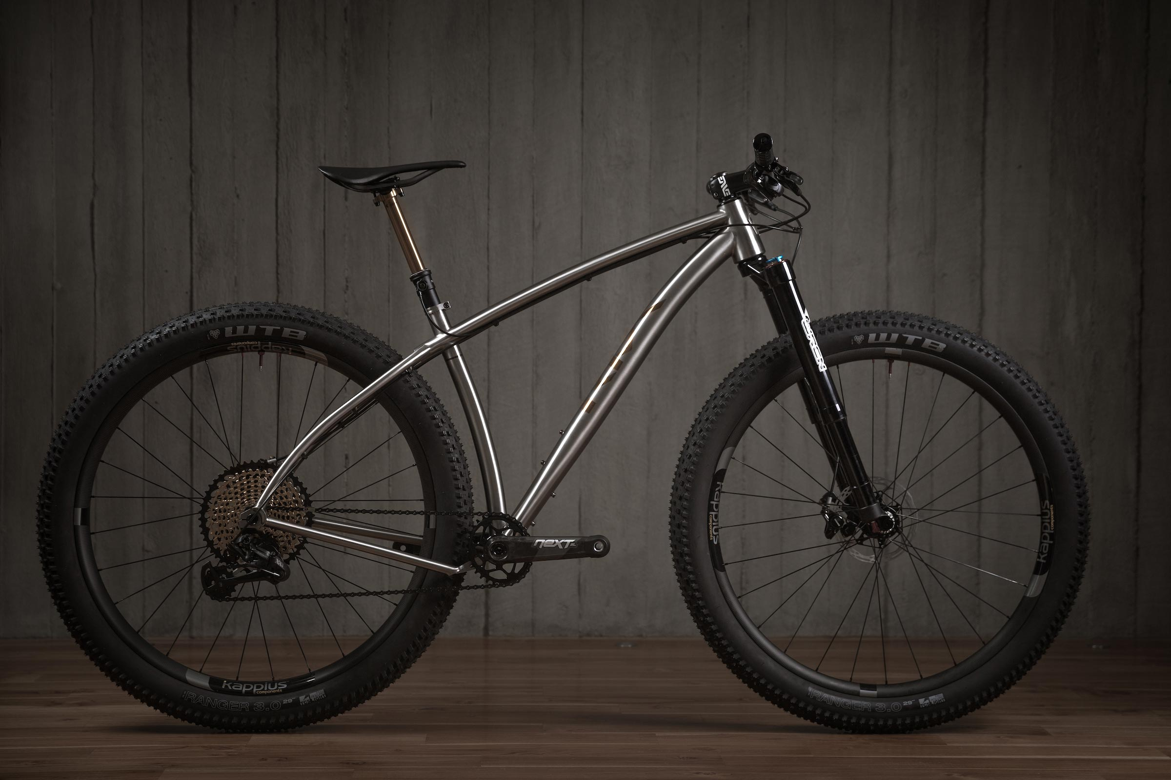 Rise Bikes Grizzly Titanium 29 plus Bike Profile