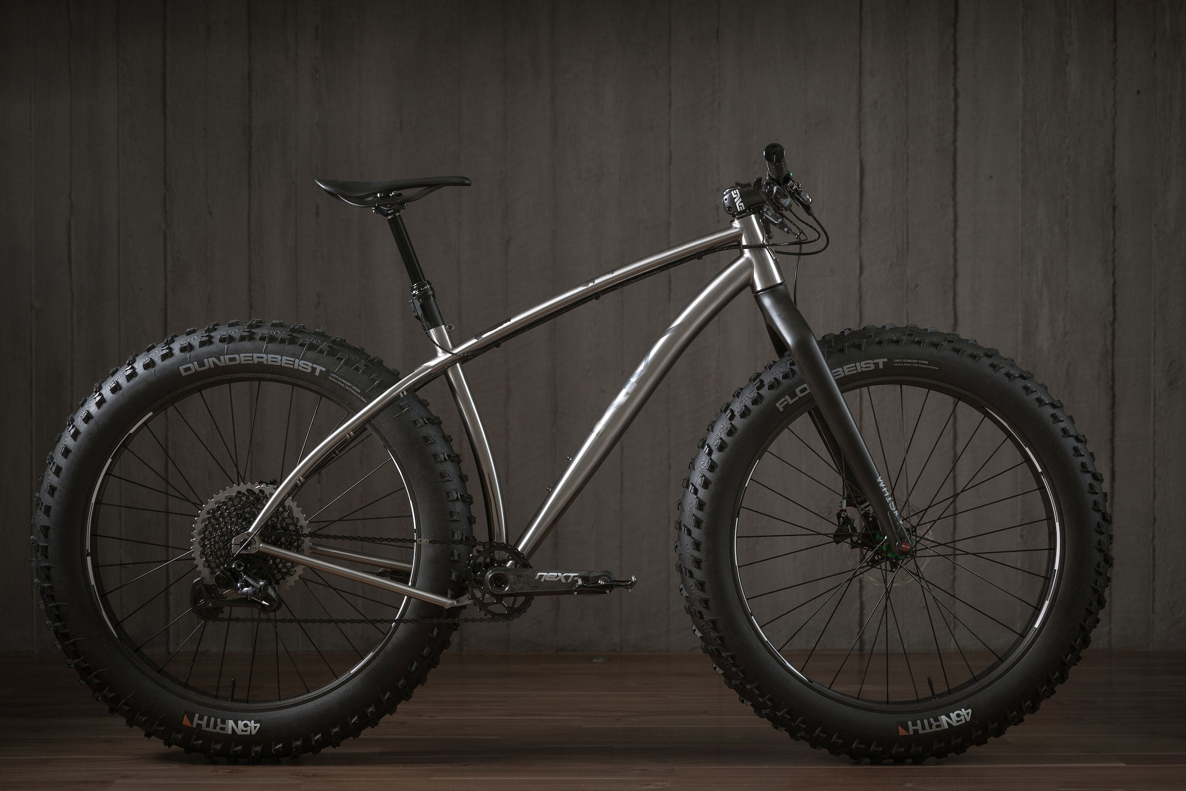 Rise Bikes Grizzly Titanium Fat Bike Profile