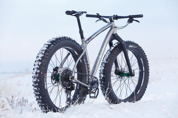 Rise Bikes Grizzly Titanium Fat Snow Bike