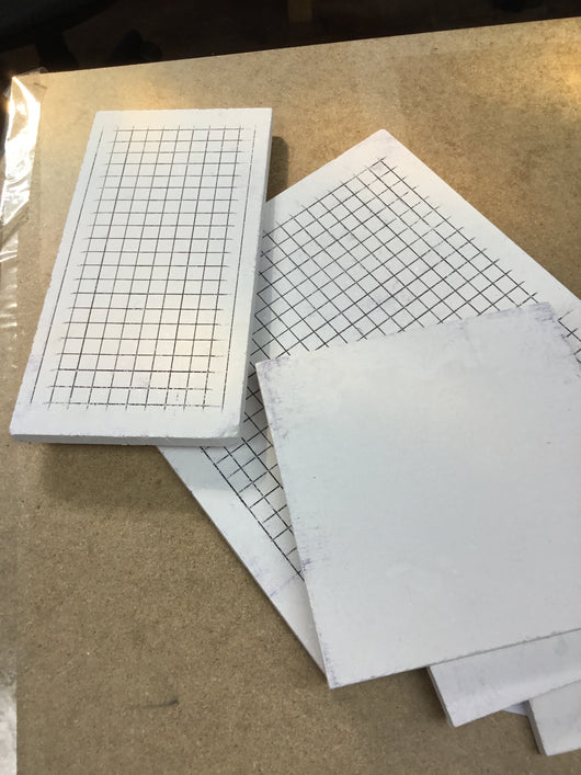 Grid Soldering Boards - Makes keeping components aligned for soldering easier