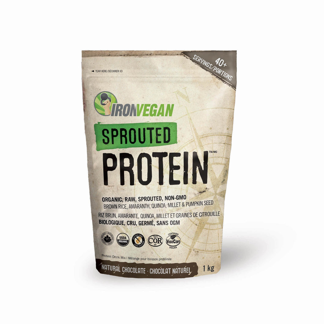 Iron Vegan - Sprouted Protein