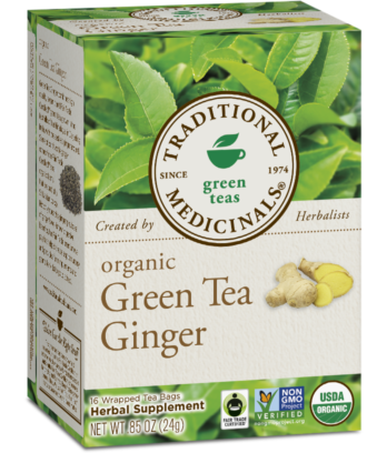 Traditional Medicinals - Green Tea w/Ginger