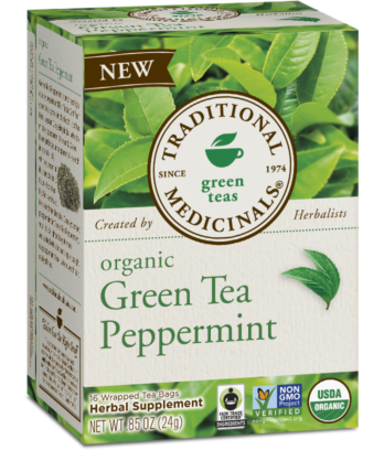 Traditional Medicinals - Green Tea w/Peppermint