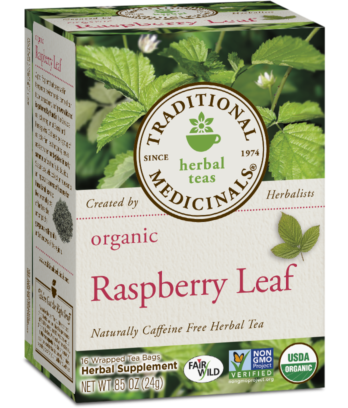 Traditional Medicinals - Raspberry Leaf