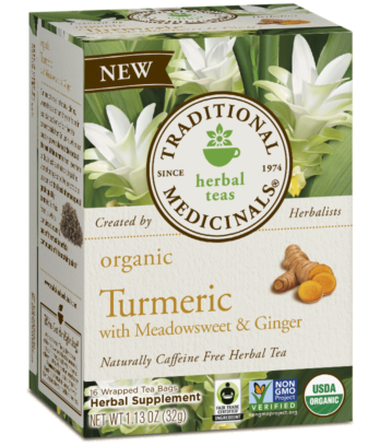 Traditional Medicinals - Turmeric With Meadowsweet & Ginger Tea