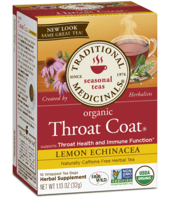 Traditional Medicinals - Throat Coat /Lemon Echinacea