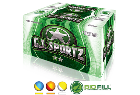 GI Sports 2 Star <br> Paintballs