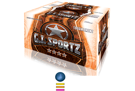 GI Sports 4 Star <br> Paintballs