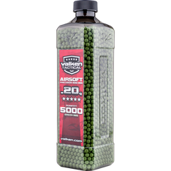 Valken Tactical 0.20g 5000ct Bottle BB's - Green