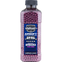 Valken Tactical 0.25g 2500ct Bottle BB's - Pink