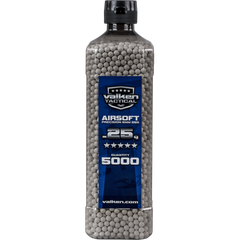 Valken Tactical 0.25g 5000ct Bottle BB's - White