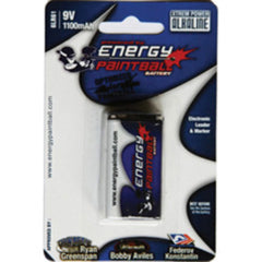Energy 9V 1100 mAh <br> Alkaline Battery