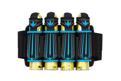 Bunkerkings Supreme <br>4+7 Harness - Cyan