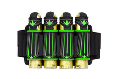 Bunkerkings Supreme <br>4+7 Harness - Lime