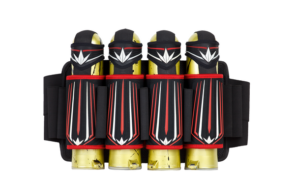 Bunkerkings Supreme <br>4+7 Harness - Red