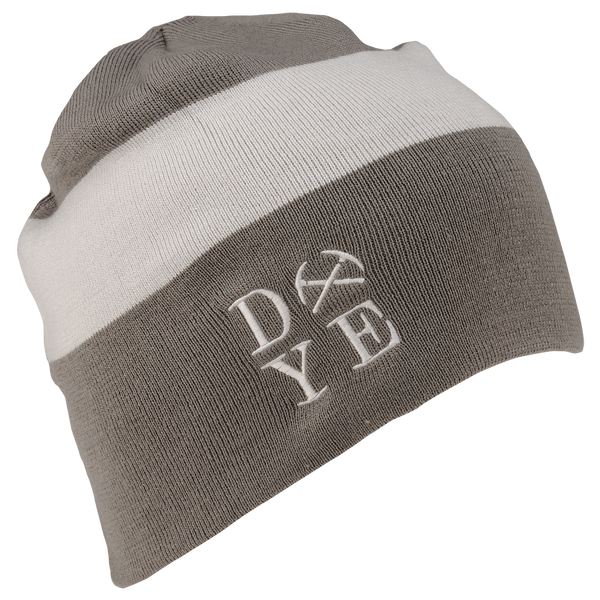 Dye Beanie <br>3AM Rust/White