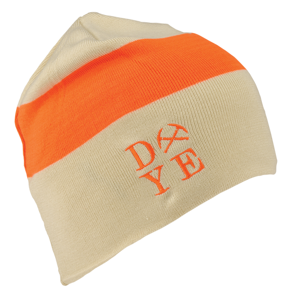 Dye Beanie <br>3AM Tan/Hunter Orange
