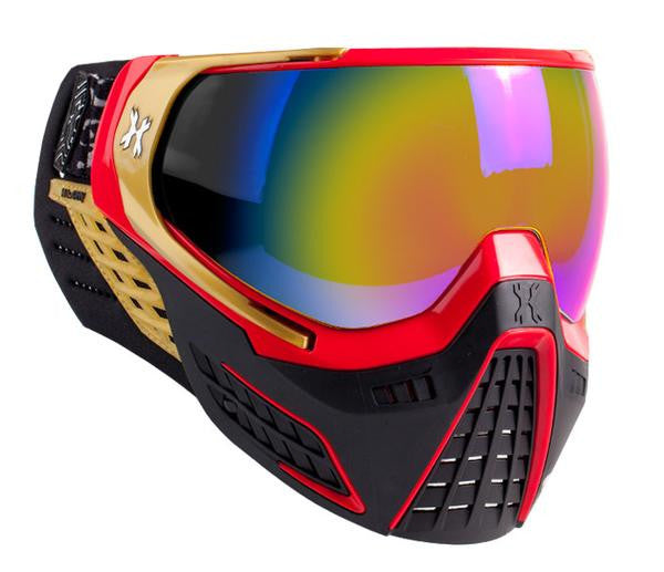 HK Army KLR Goggle <br>Element (Red/Gold) <br>Fusion Lens