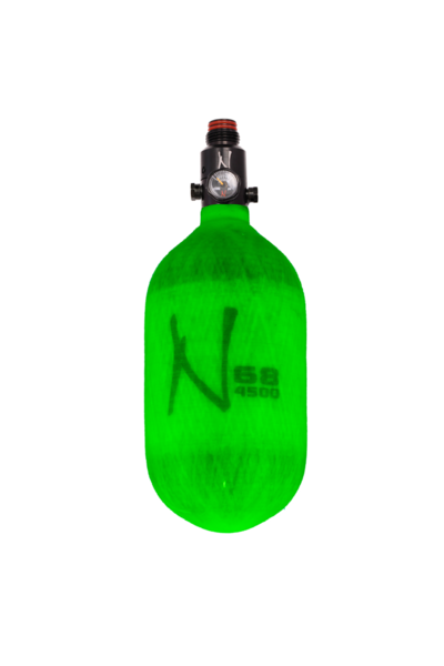 Ninja Comp Air Tank <br>w/Ultralite Reg 68/4500<br> Translucent Lime