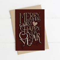2 Christmas Cards - Gingerbread Set