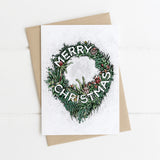 5 Christmas Cards - Australian Flowers