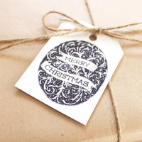 Blue Ribbon Gift Tag 10-pack