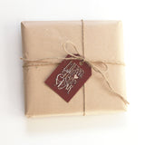 Gingerbread Christmas Gift Tag 10-pack