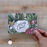 Identity in Christ Affirmations Card Pack - 30 Cards in Colour