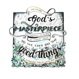 God's Masterpiece - Ephesians 2:10 handlettered art print
