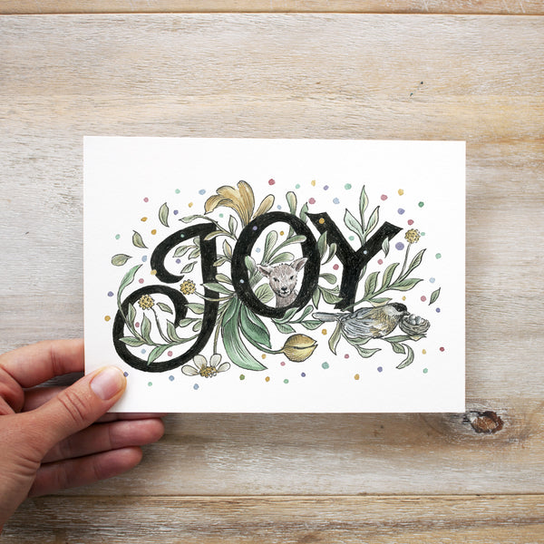 Joy - Limited edition 5x7 inch giclee print
