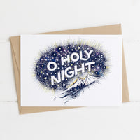 O Holy Night - Christmas Card