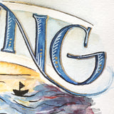 "Close up detail of final N & G in the ""healing"" illustration."