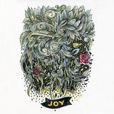 ORIGINAL ART: Joy - Word of the year series A5 mixed media piece