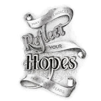 May Your Choices Reflect Your Hopes, Not Your Fears. Nelson Mandela Quote Print