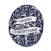 Merry Christmas Handlettered Card
