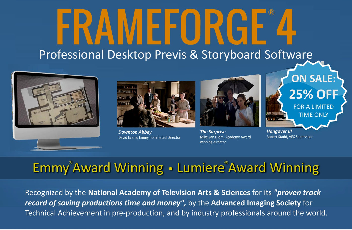 frameforge is used on your favorite films and tv shows