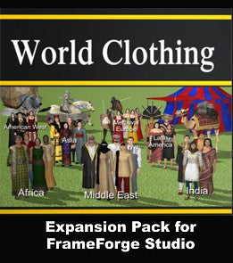 World Clothing Expansion Pack