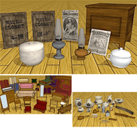 Expansion Pack - 19th Century Props