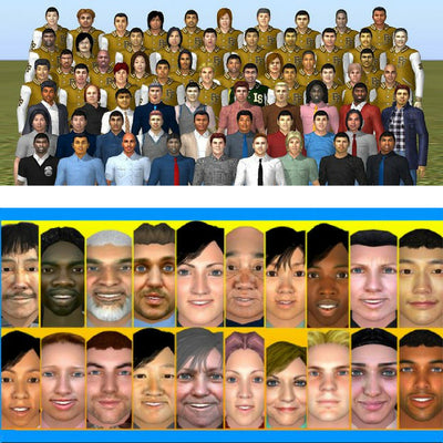 Expansion Pack - Reel Faces