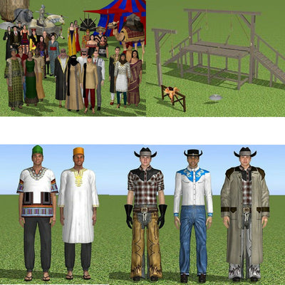 Expansion Pack - World Clothing